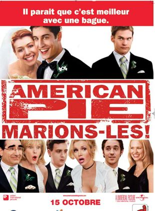 Bande-annonce American pie : marions-les !
