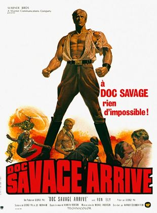 Bande-annonce Doc Savage arrive