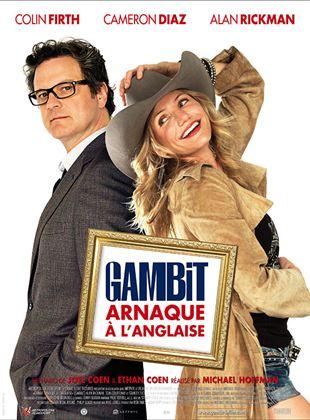 Bande-annonce Gambit, arnaque à l'anglaise