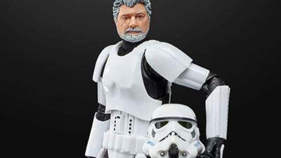 Star Wars : George Lucas devient... Un Stormtrooper !