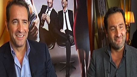 """""""Les Infidèles"""" : rencontre avec Jean Dujardin et Gilles Lellouche [VIDEO]"""