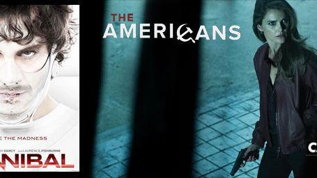 """Les saisons 2 d""""Hannibal"""" et """"The Americans"""" à l'heure US en mars sur Canal+ Séries"""