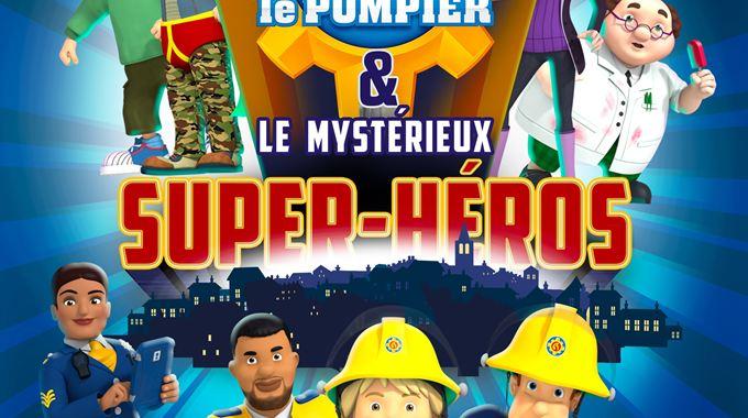 Photo du film Sam le pompier & le mystérieux Super-Héros
