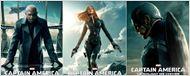 """""""Captain America 2"""": les affiches de Chris Evans, Scarlett Johansson et Samuel L. Jackson dévoilées !"""