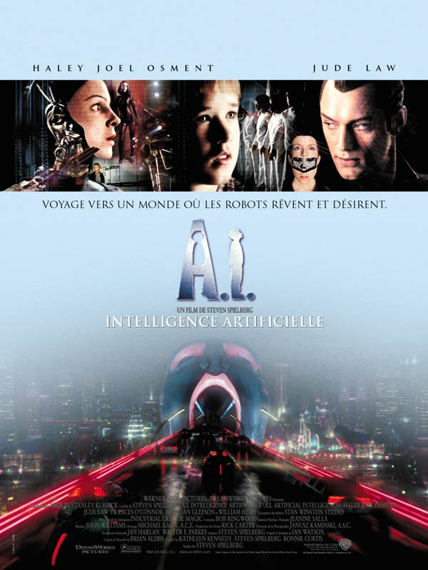 A I Intelligence Artificielle Film 2001 Allocine