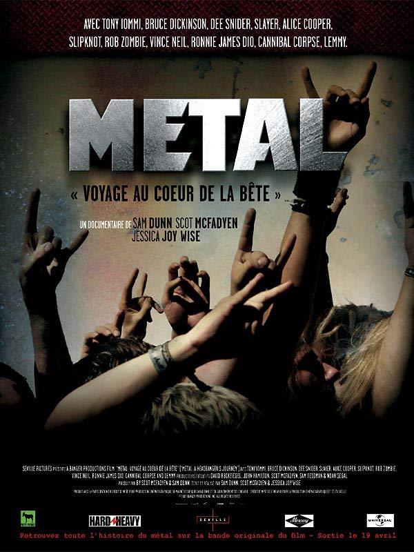 """Résultat de recherche d'images pour """"Metal : Voyage au coeur de la bête streaming"""""""