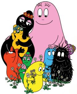 Affiche de la série Barbapapa
