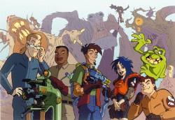 Affiche de la série Extreme Ghostbusters