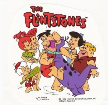 Affiche de la série The Flintstones