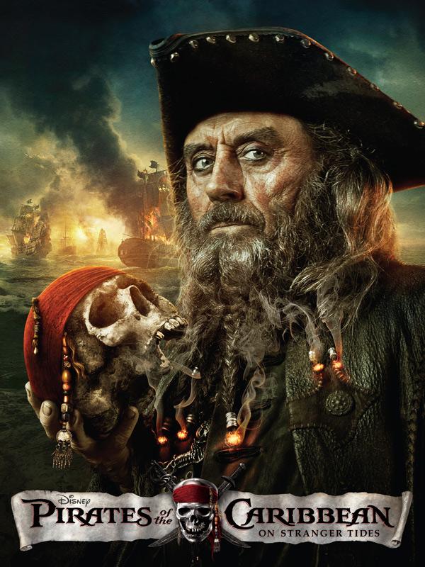 Affiche du film Pirates des Caraïbes : la Fontaine de