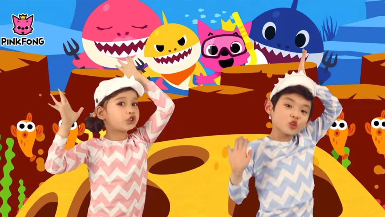 Baby Shark Dance : le phénomène Youtube devient une série ...