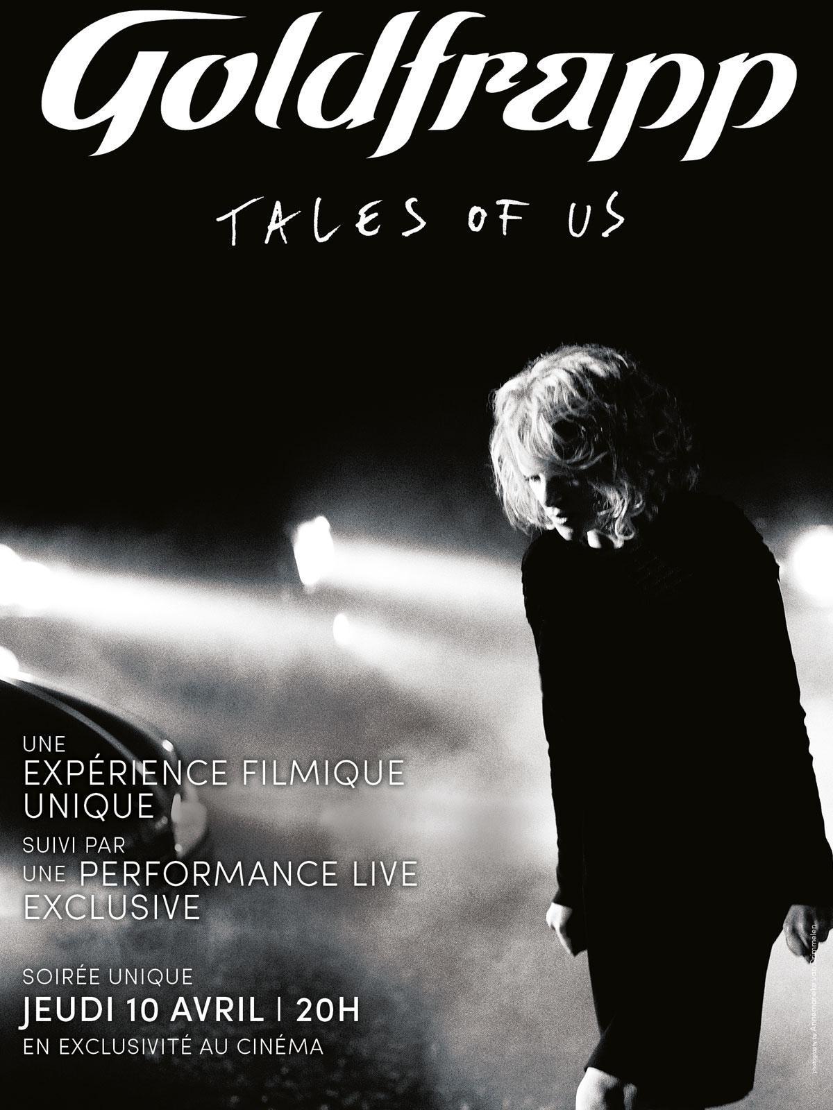 Télécharger Goldfrapp - Tales of us (Pathé Live) HDLight 1080p Complet Uploaded