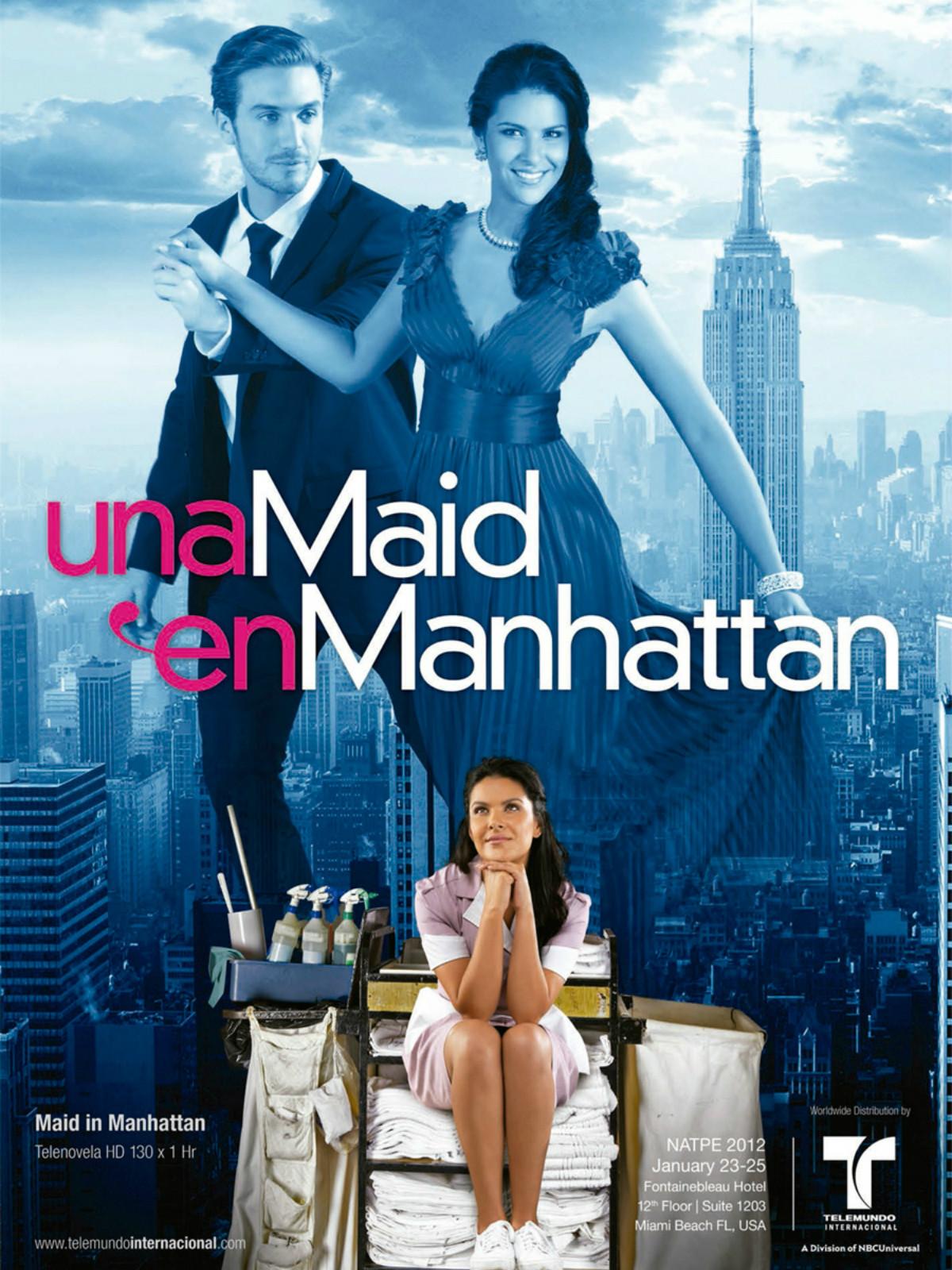 Affiche de la série Una Maid en Manhattan