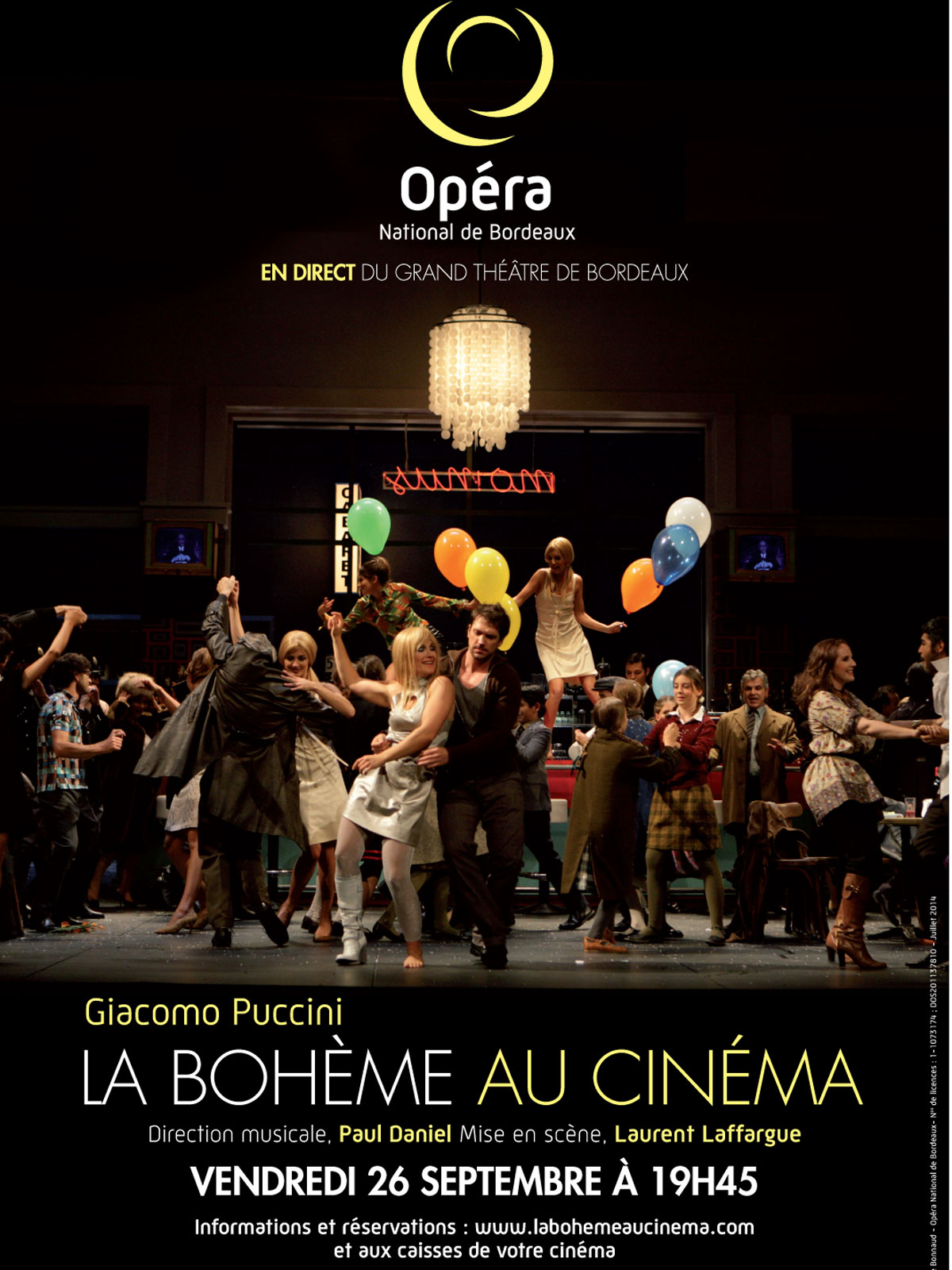 Télécharger La Bohème (Côté Diffusion) TUREFRENCH DVDRIP Uploaded