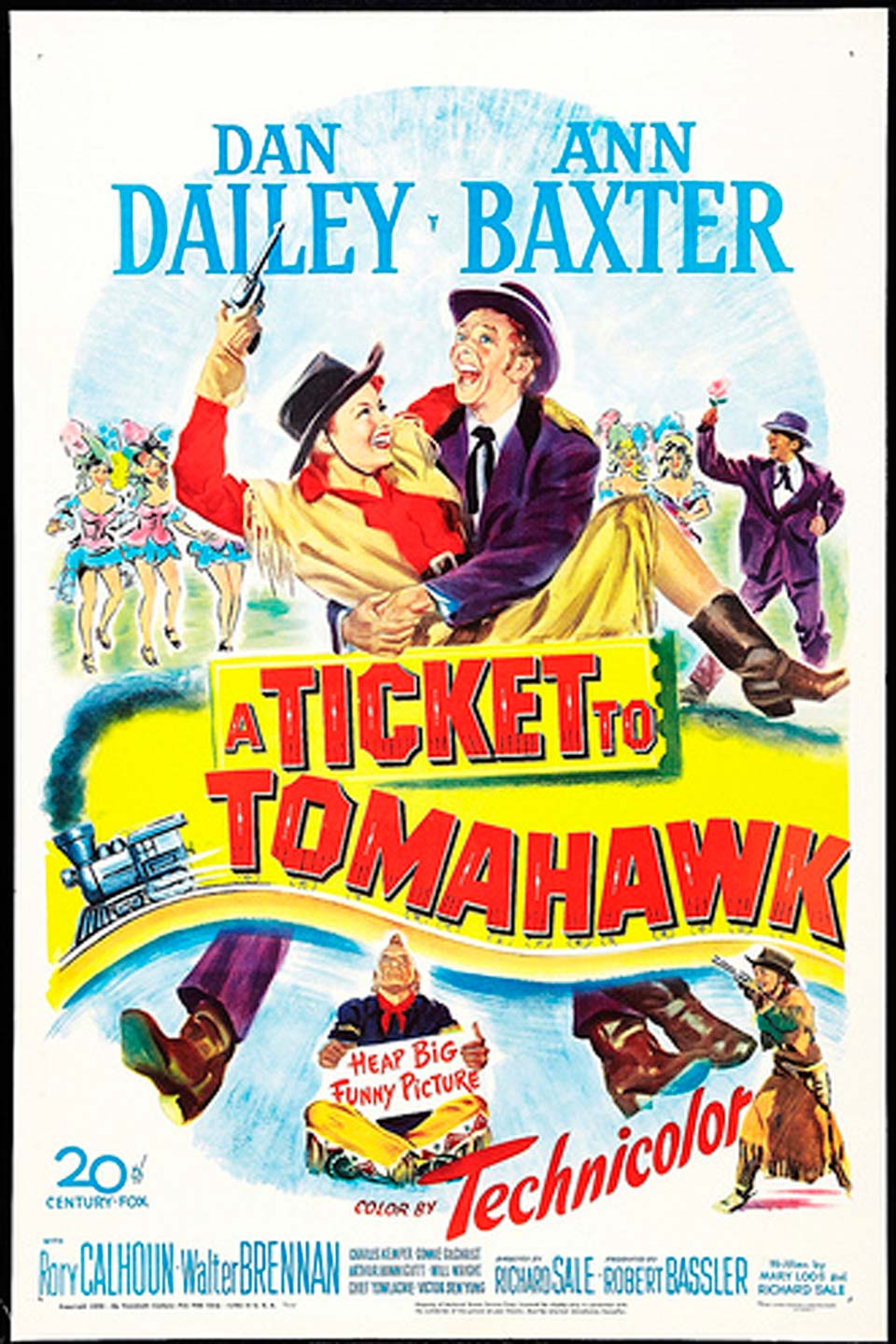 Télécharger A Ticket to Tomahawk Complet DVDRIP Uptobox