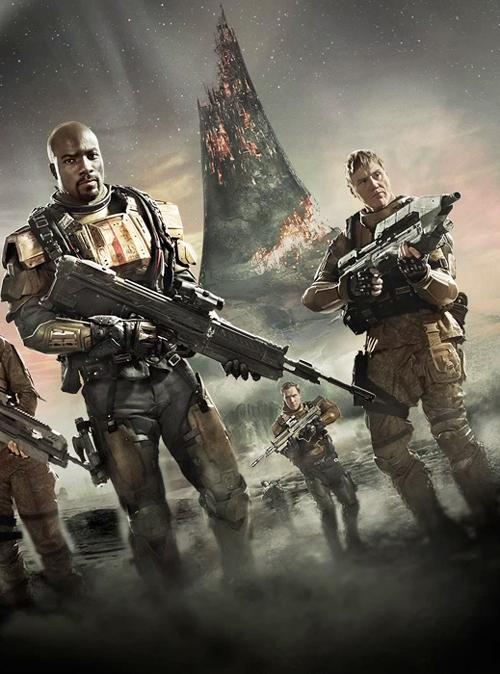 Affiche de la série Halo : Nightfall