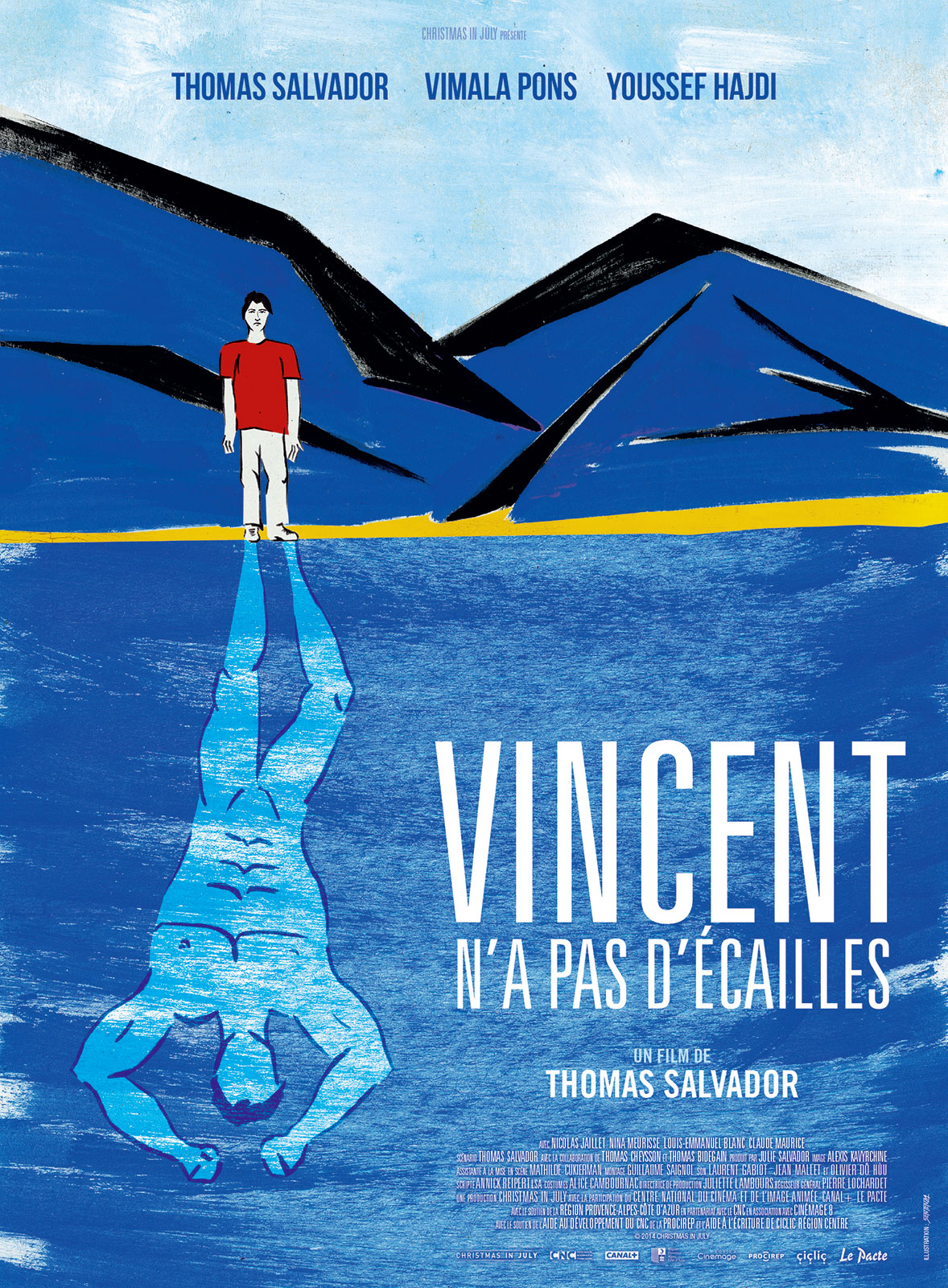 Vincent n'a pas d'écailles en Streaming