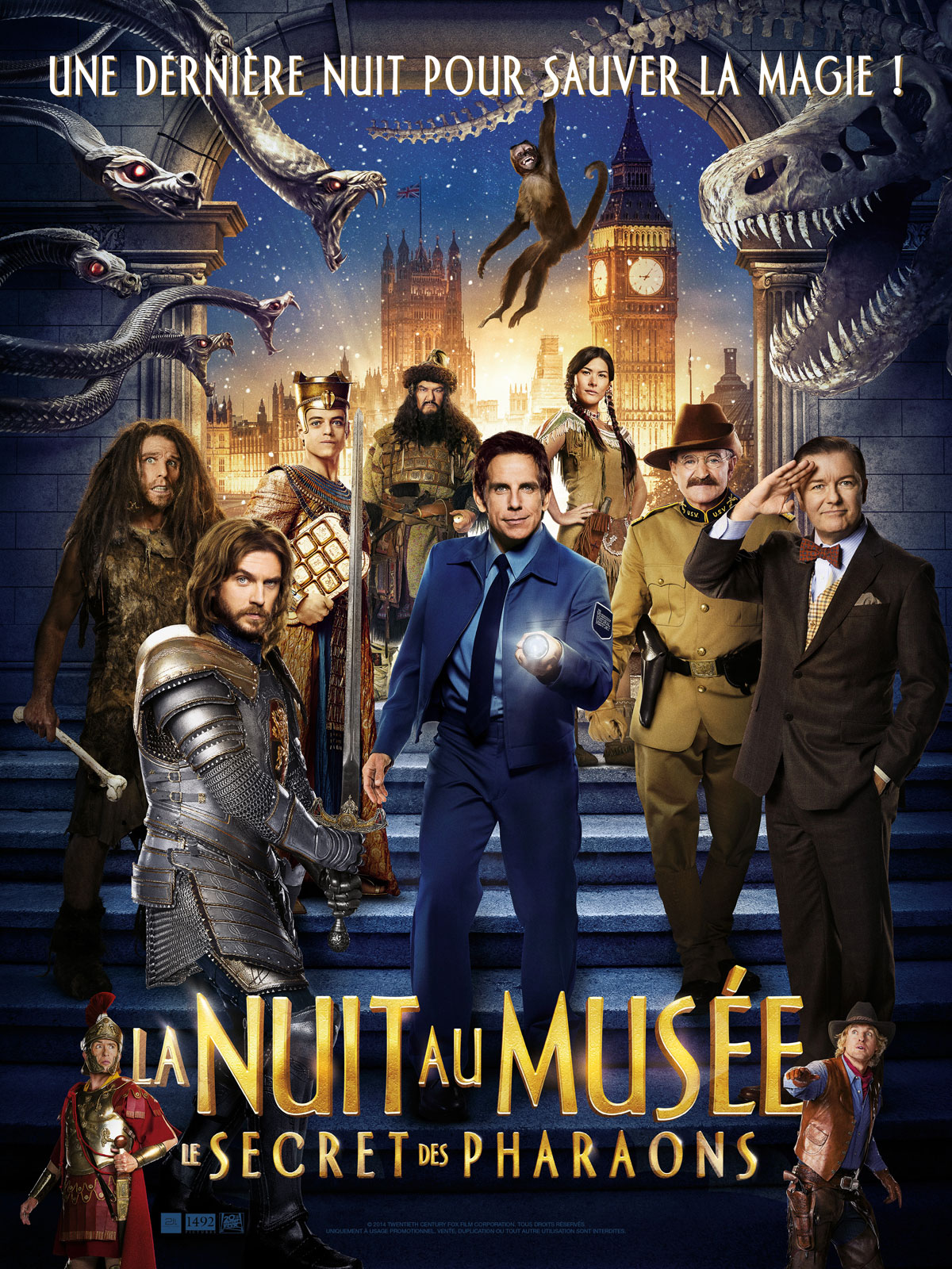 Télécharger La Nuit au musée : Le Secret des Pharaons DVDRIP TUREFRENCH Uploaded