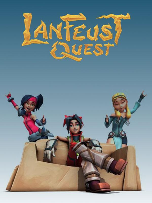 Affiche de la série Lanfeust Quest