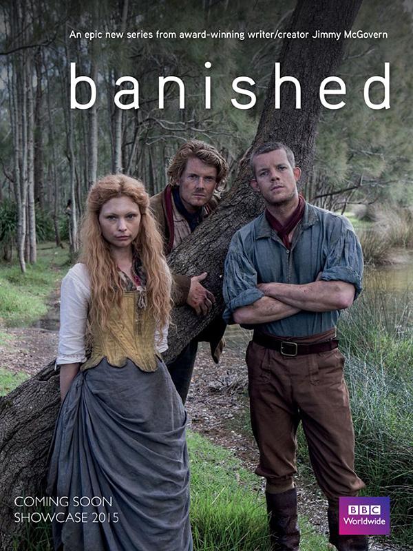 Affiche de la série Banished
