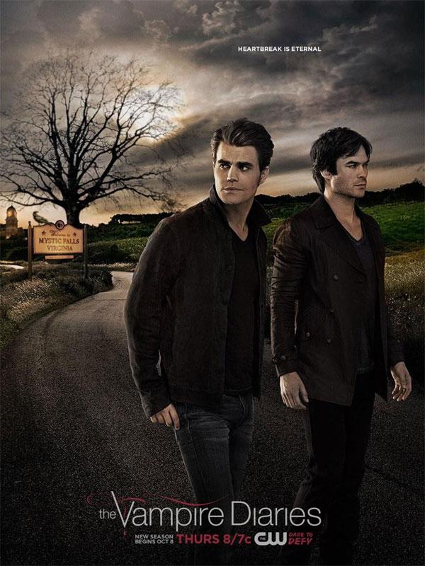 Affiche de la série Vampire Diaries