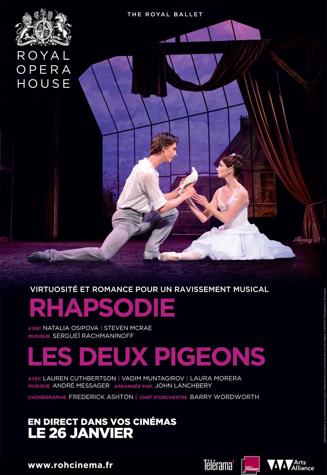 Télécharger Rhapsodie - Les Deux Pigeons (Arts Alliance) Gratuit Uploaded