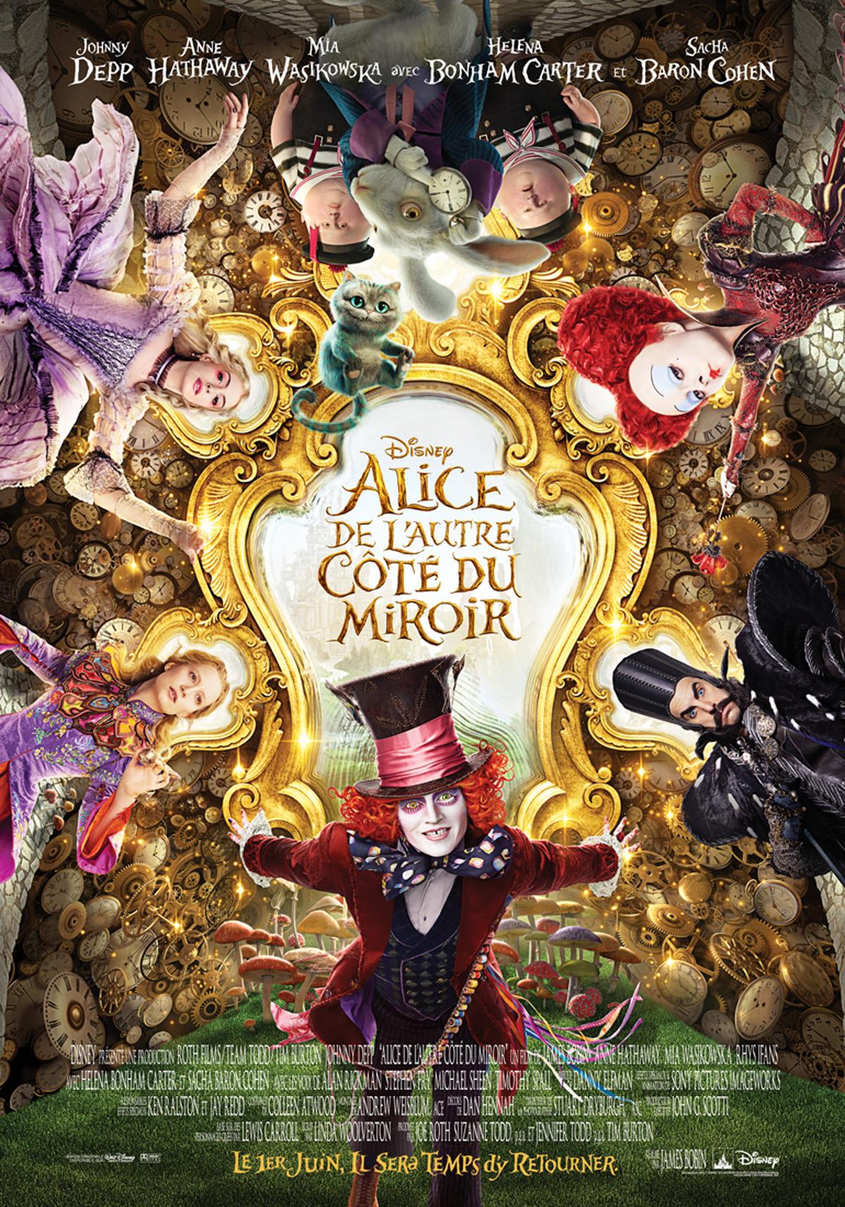 Alice de l'autre côté du miroir ddl