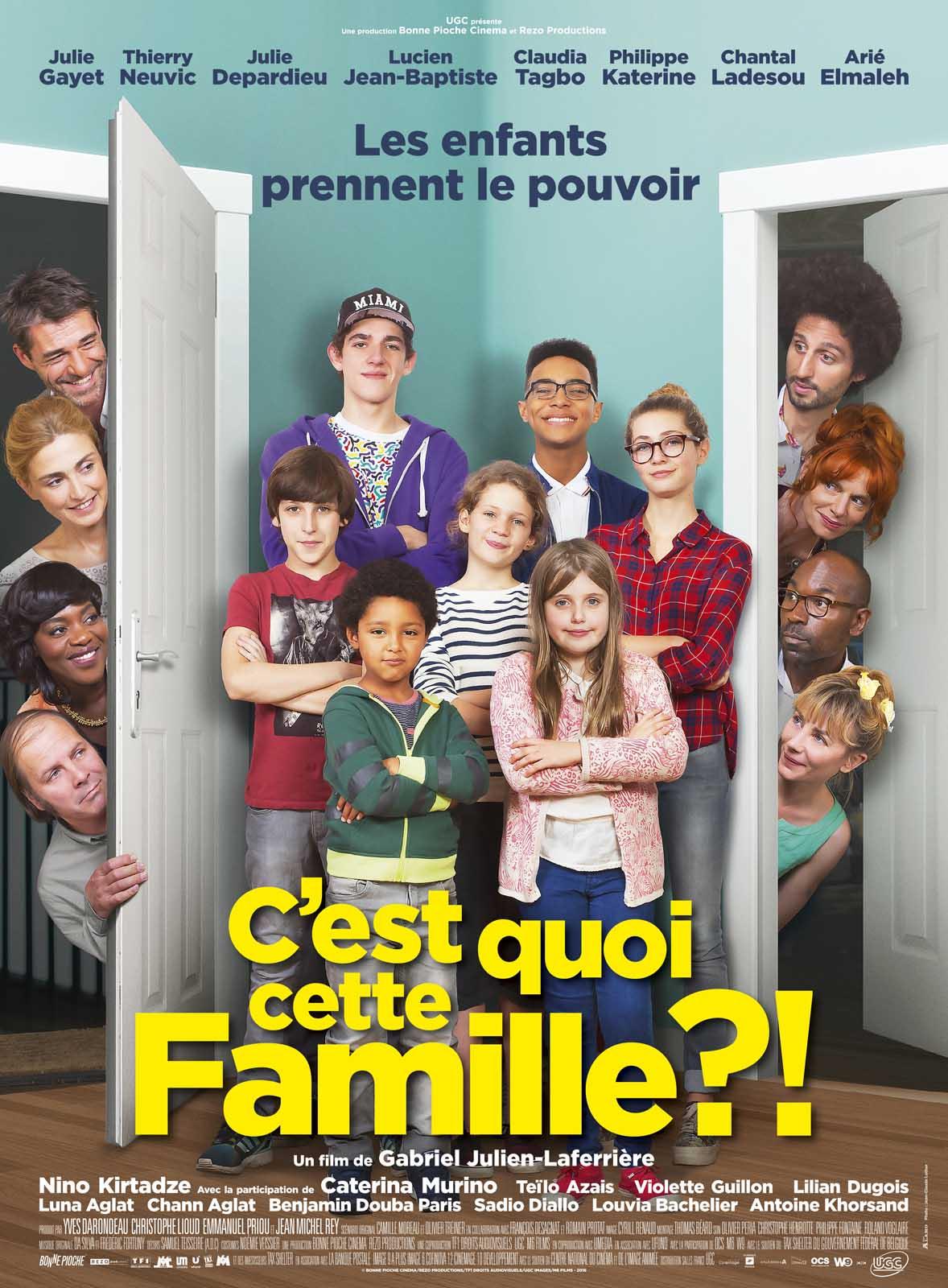 C'est quoi cette famille?! streaming