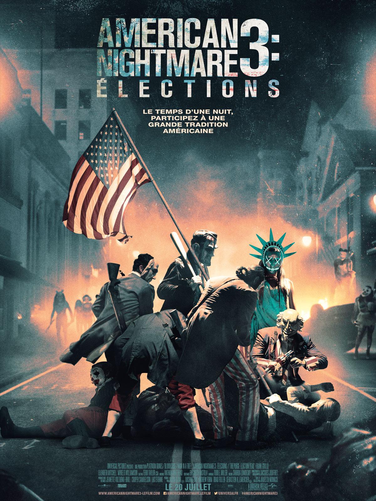 Achat American Nightmare 3 : Elections en DVD - AlloCiné