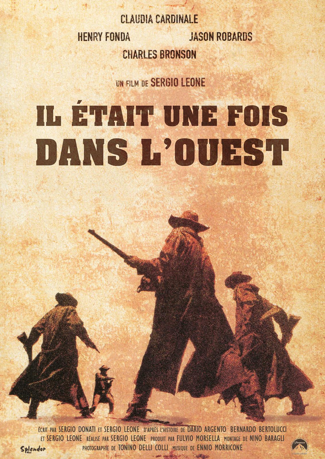 Il était une fois dans l'Ouest - film 1968 - AlloCiné