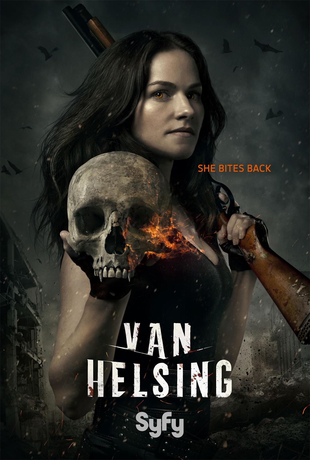 Affiche de la série Van Helsing