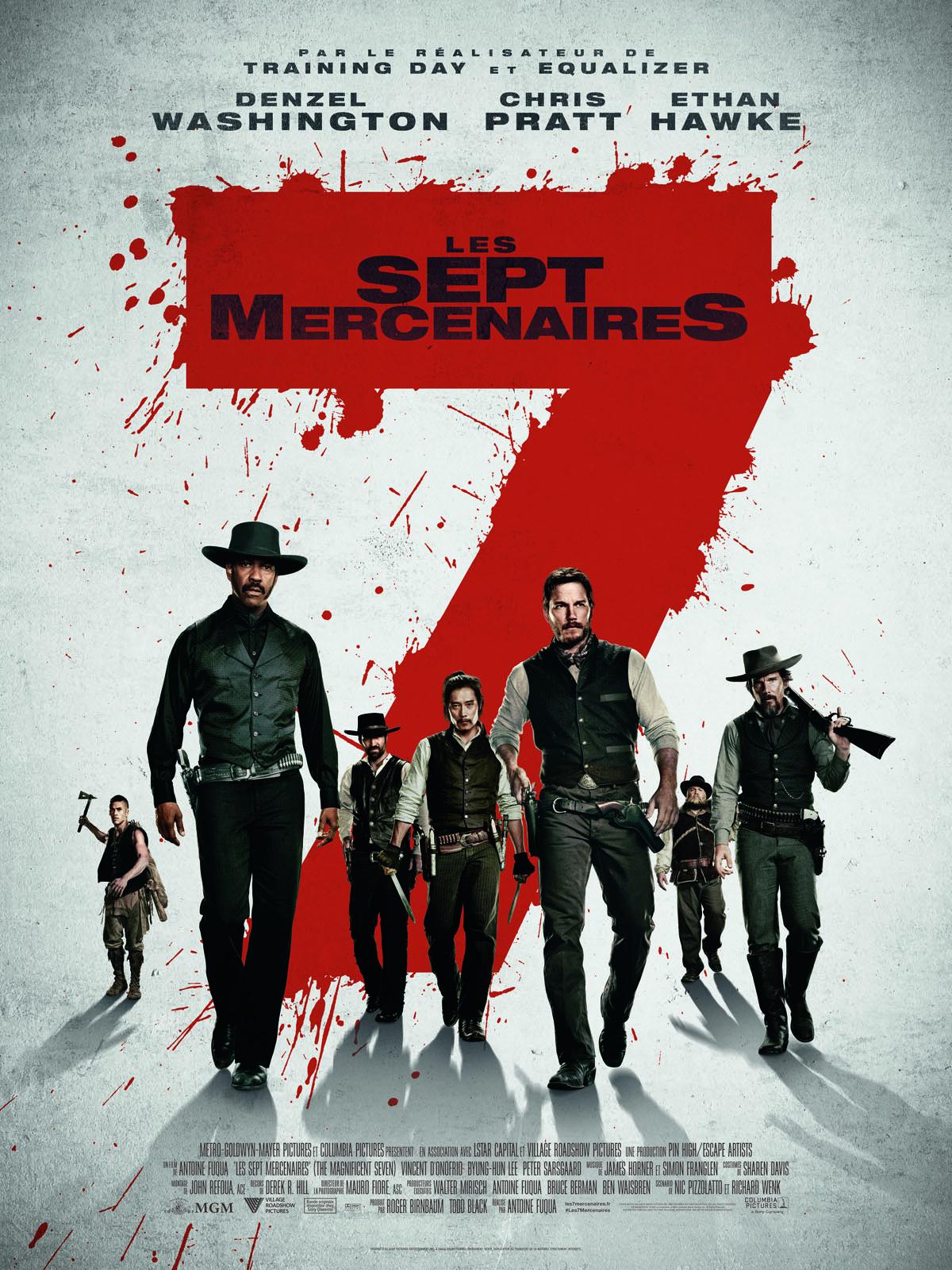 Achat Les 7 Mercenaires en Blu Ray - AlloCiné