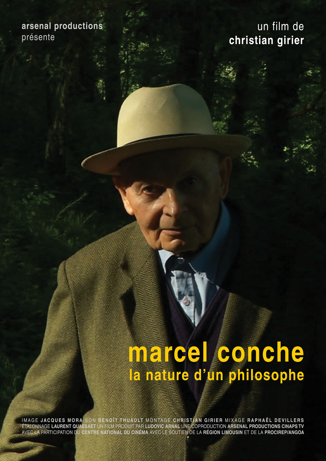 Marcel Conche, la nature d'un philosophe en Streaming