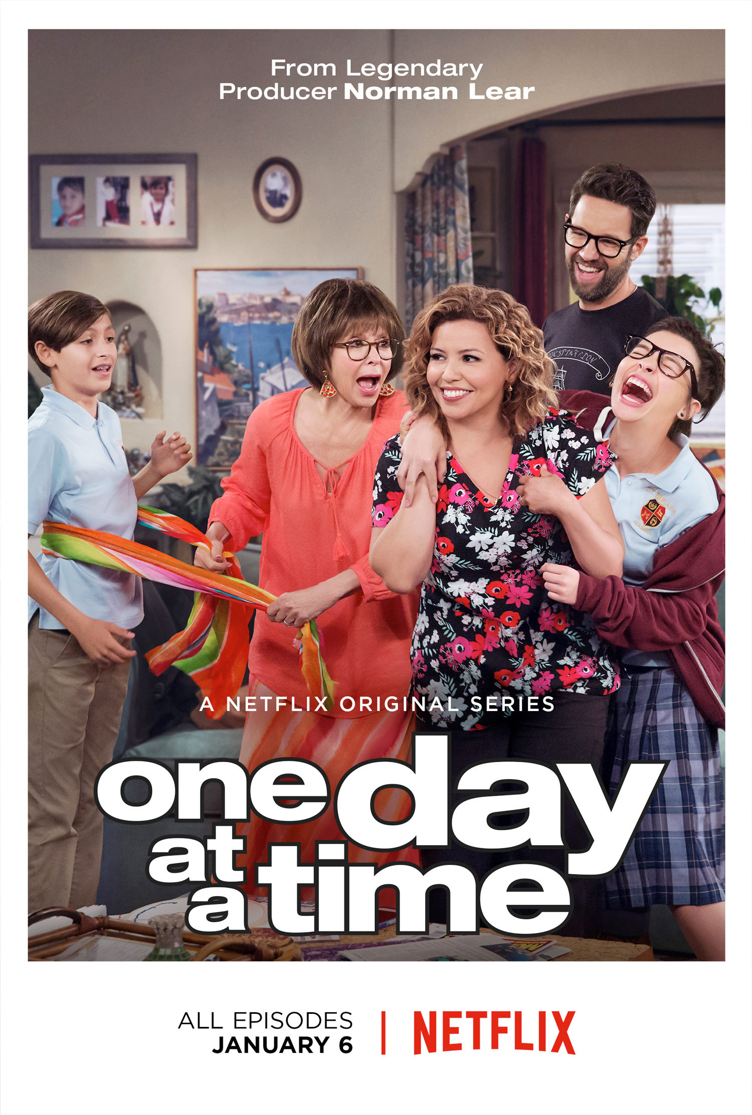 Affiche de la série One Day At A Time (2017)