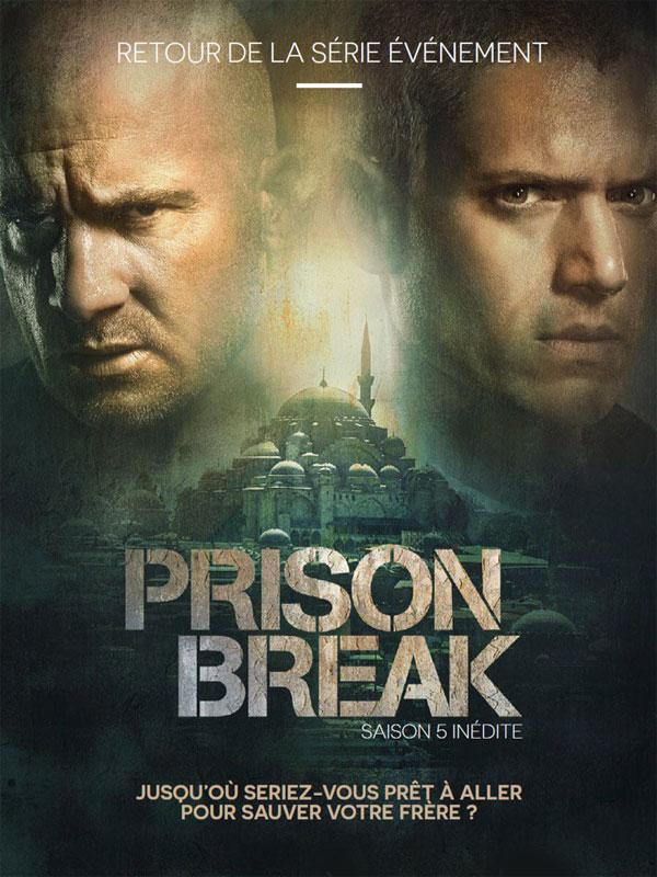 Affiche de la série Prison Break