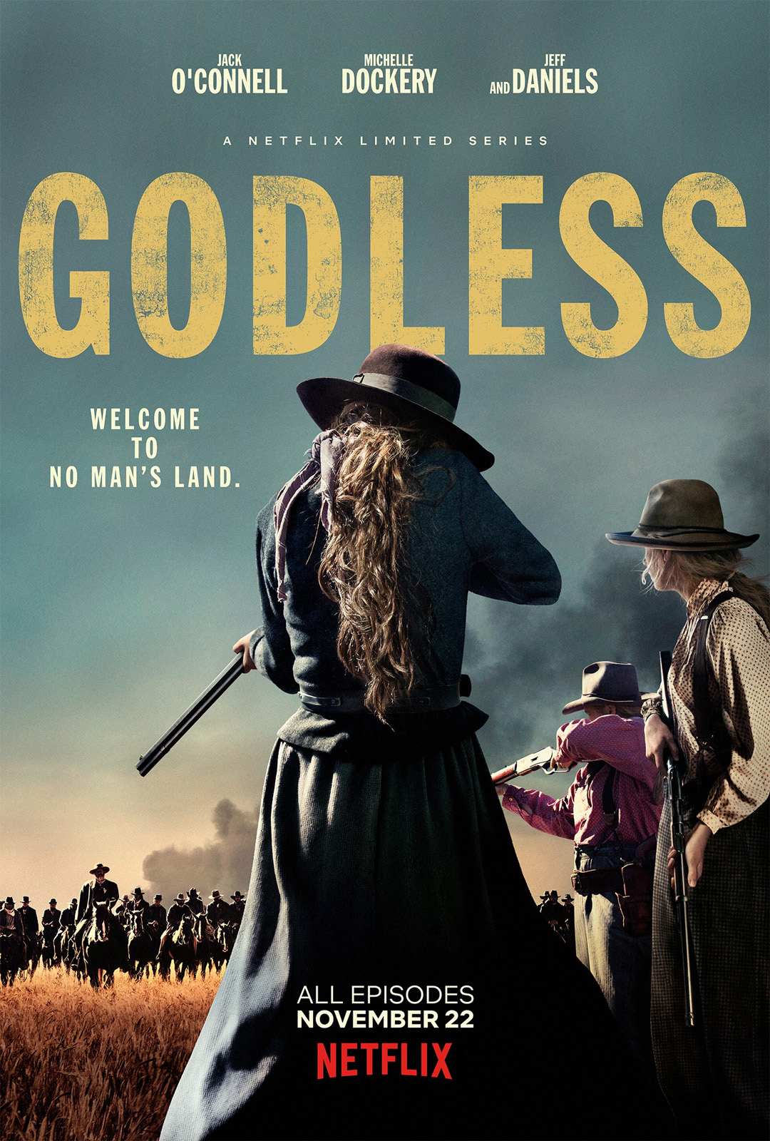 Affiche de la série Godless