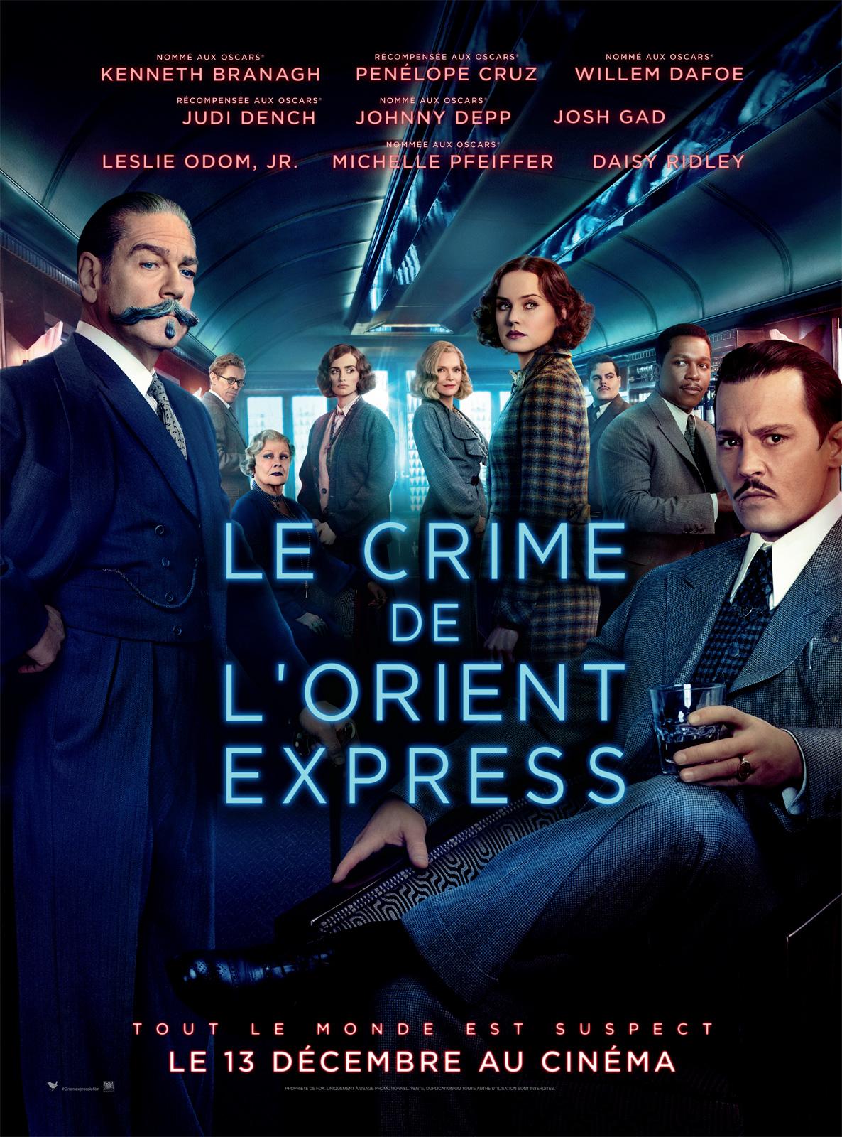 Achat Le Crime de l'Orient-Express en Blu Ray - AlloCiné