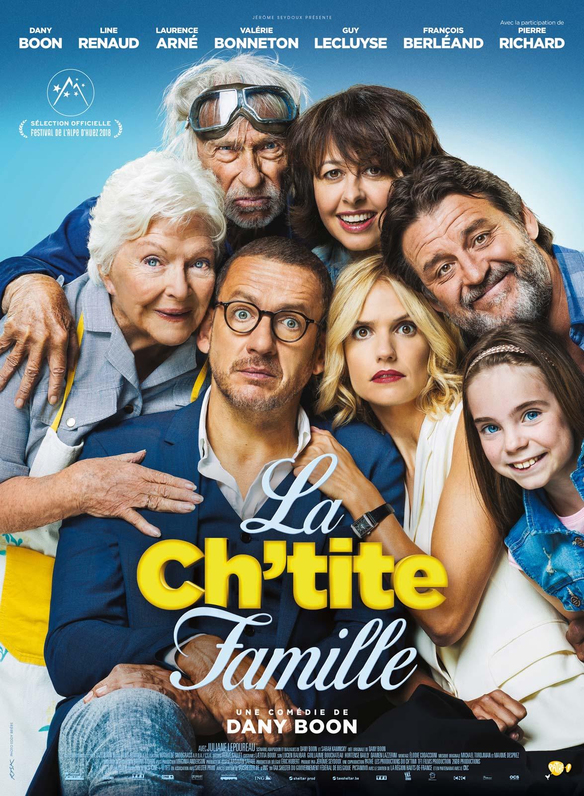 AfficheLa Ch'tite famille