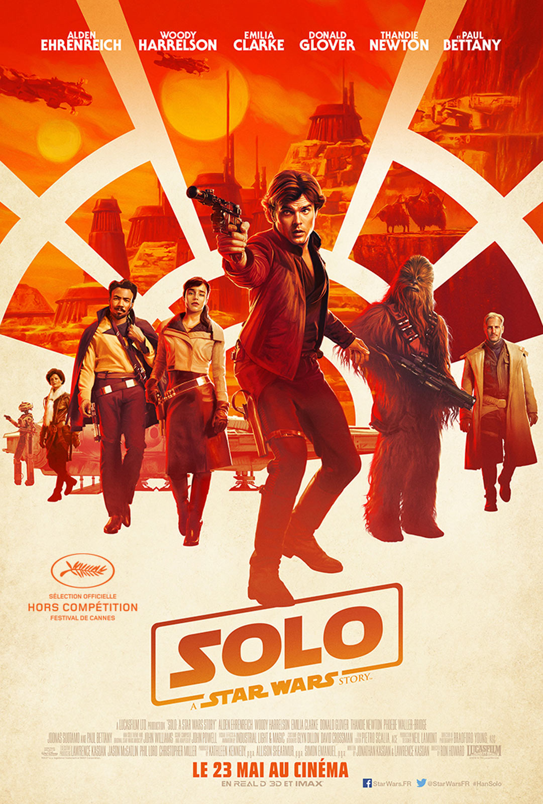 AfficheSolo: A Star Wars Story