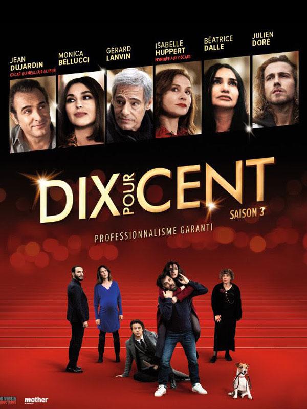 Affiche de la série Dix Pour Cent saison 3 - Cultea