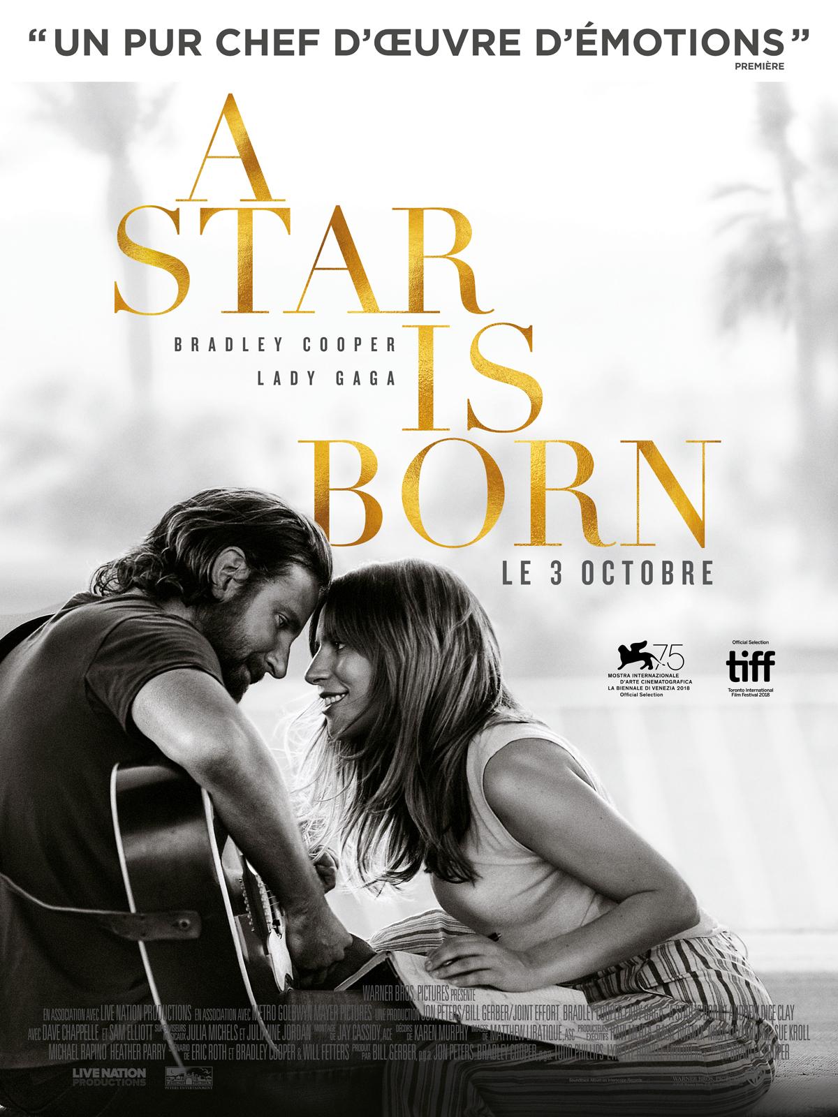 """Résultat de recherche d'images pour """"a star is born affiche"""""""