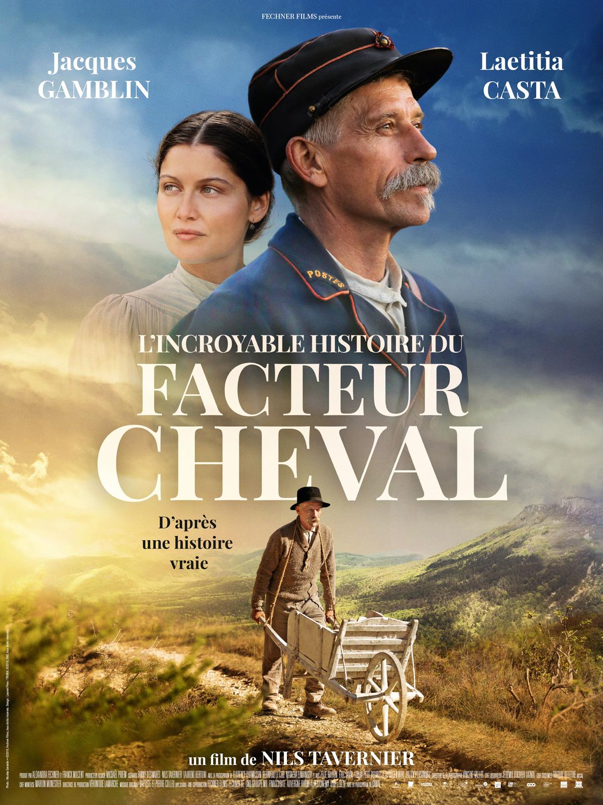 L'Incroyable histoire du Facteur Cheval streaming