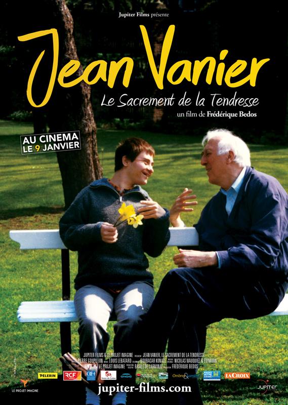 Affiche du film Jean Vanier, le sacrement de la tendresse