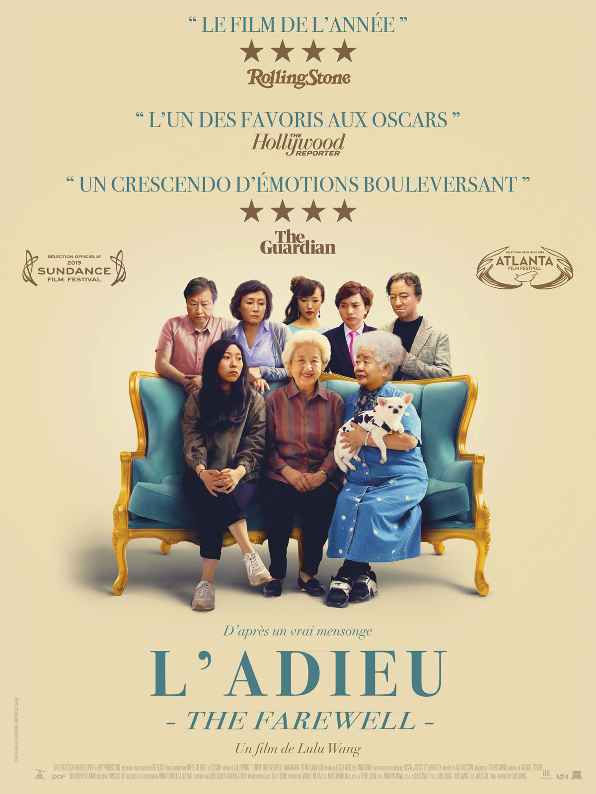 L'Adieu (The Farewell) - film 2019 - AlloCiné