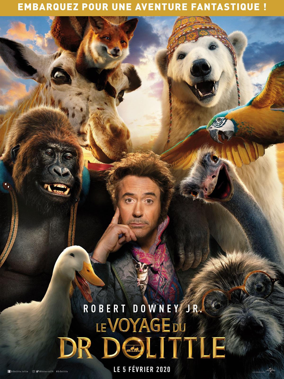 Le Voyage du Dr Dolittle - film 2020 - AlloCiné
