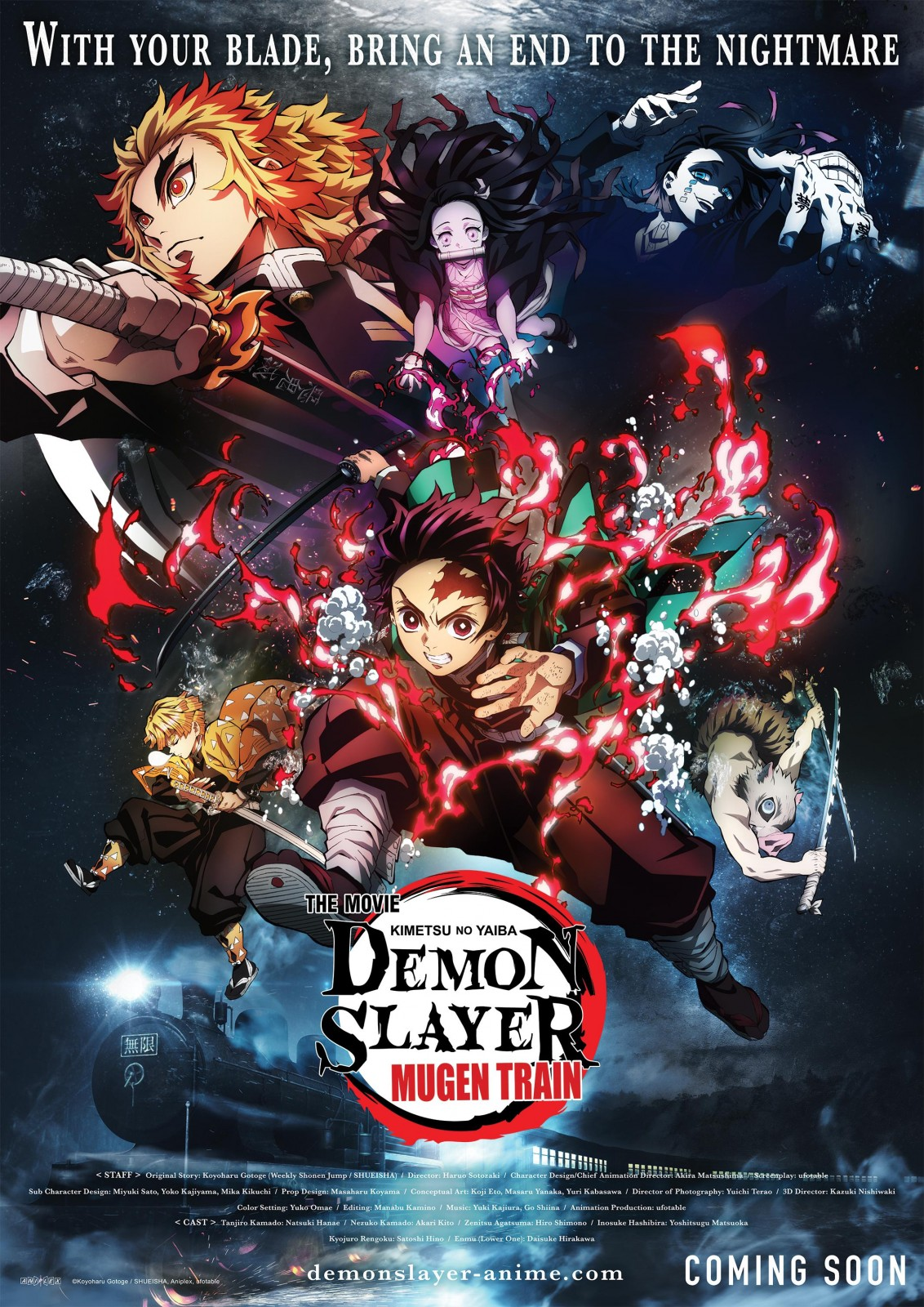 Demon Slayer : Le train de l'infini - film 2020 - AlloCiné
