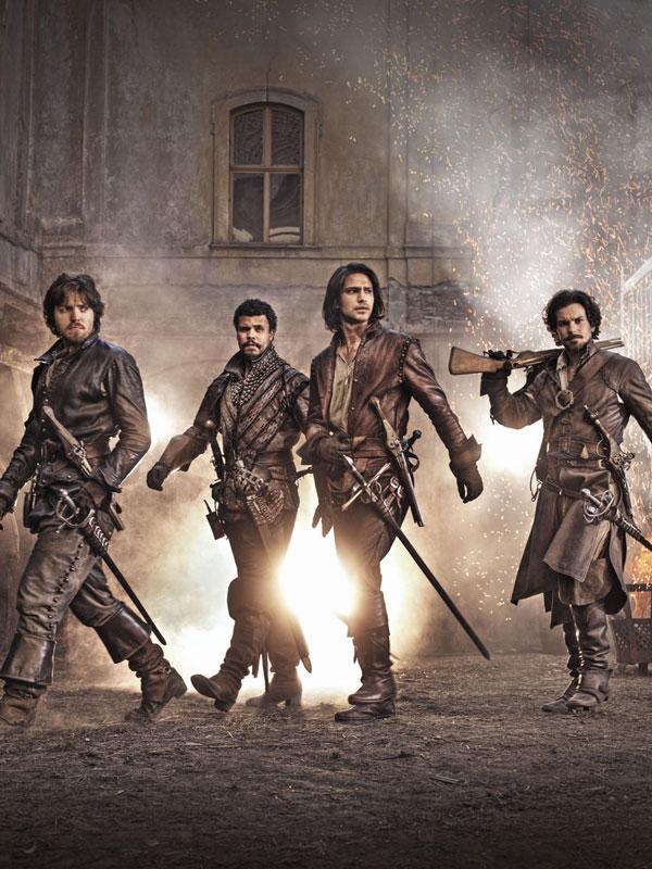 Affiche de la série The Musketeers