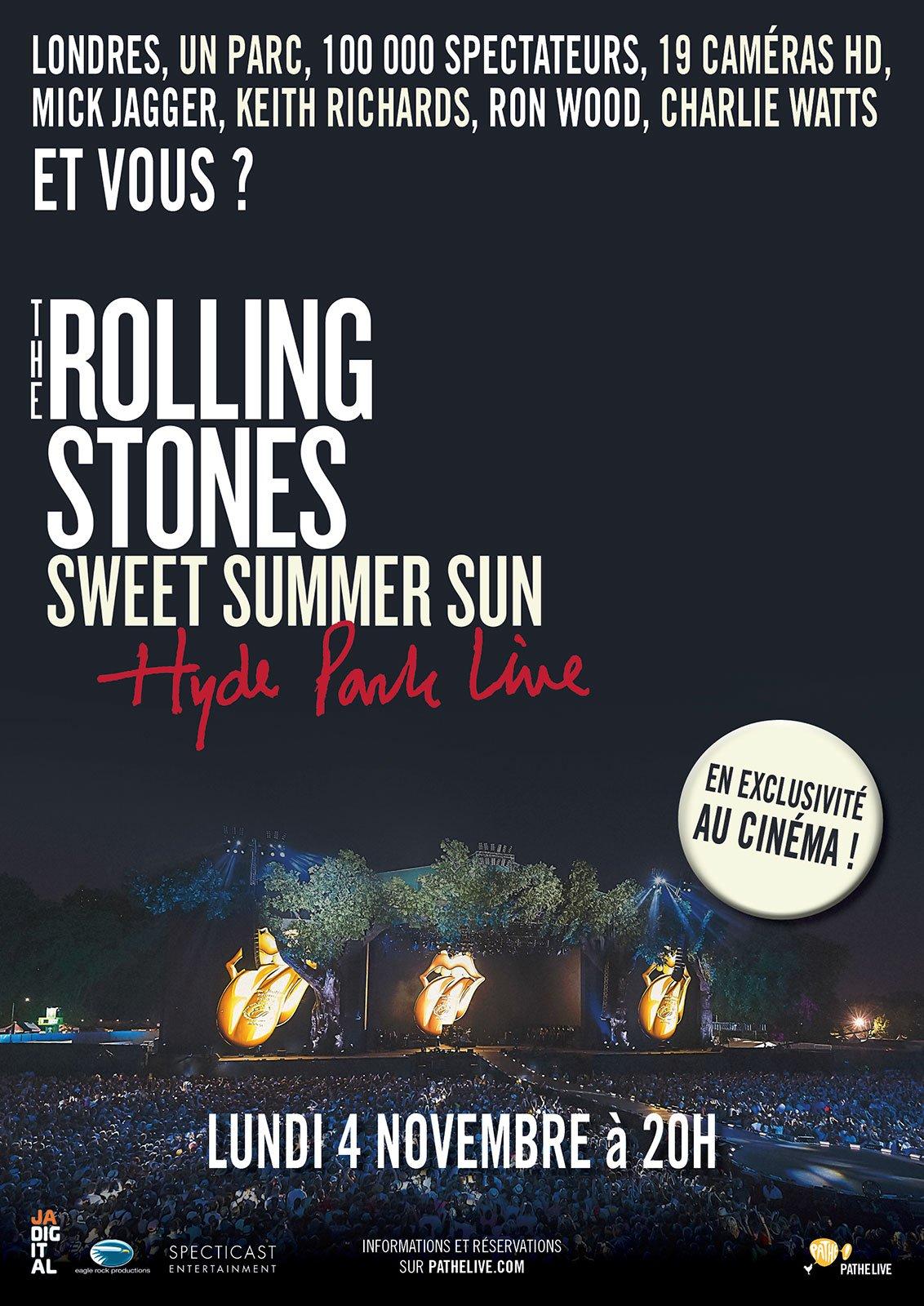 Télécharger The Rolling Stones - Hyde Park Live (Pathé Live) Gratuit DVDRIP Uptobox