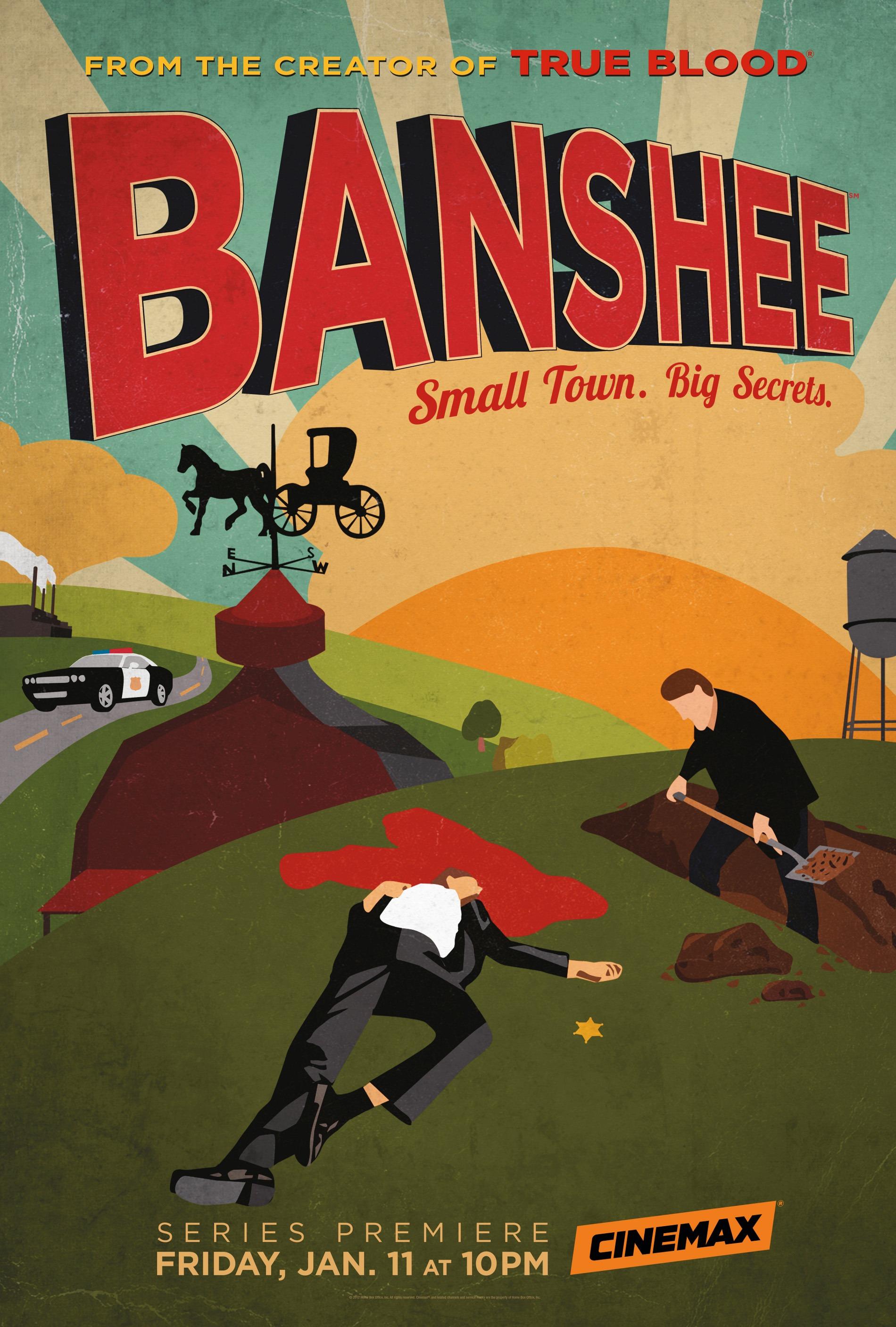 Affiche de la série Banshee