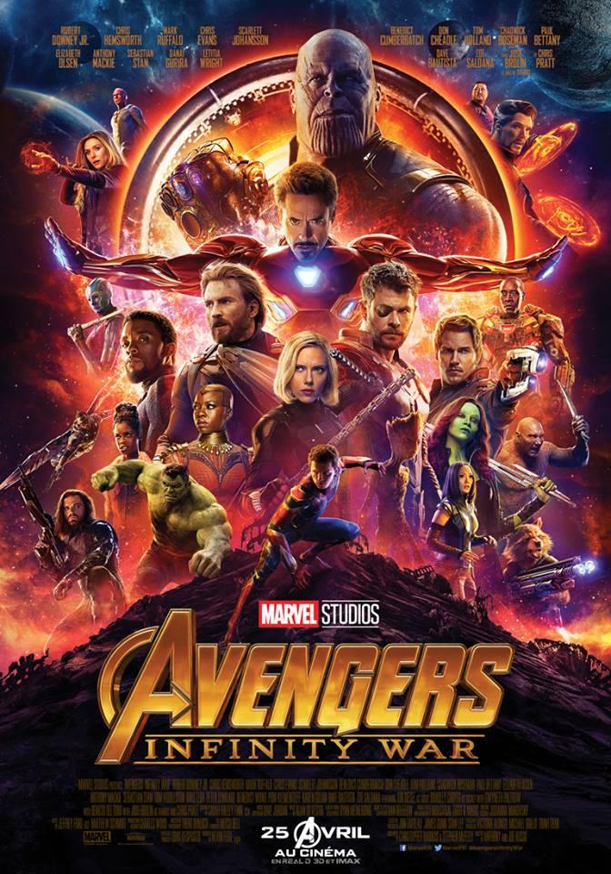 Avengers infinity war au cin ma limoges centre ville grand ecran - Cinema grand ecran limoges ...